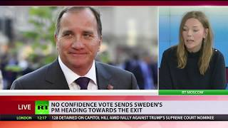 No-confidence vote sends Sweden's PM, Lofven heading towards the exit - RUSSIATODAY
