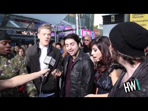 Pentatonix AMA 2012 Pre-Show Medley -- Justin Bieber, Taylor Swift &amp; Nicki Minaj