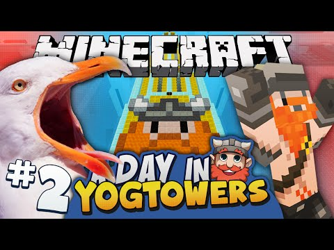 Minecraft - A Day At Yogtowers #2 - Fridge Tax