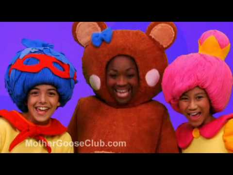 One, Two, Buckle My Shoe (Live) -  Mother Goose Club Nursery Rhymes