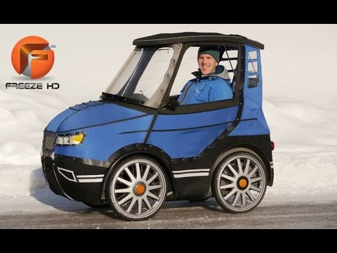 10  UNIQUE VELOMOBILES YOU JUST HAVE TO SEE