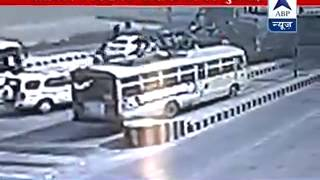 Caught on Camera: SP MLA Abhay Singh's supporters brutally thrash Toll Plaza employees - ABPNEWSTV