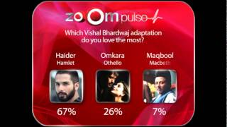zoOm Pulse - Which Vishal Bharadvaj creation is your favorite? - ZOOMDEKHO