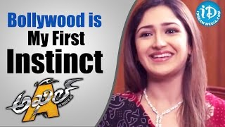 Bollywood Is My First Instinct - Actress Sayyeshaa Saigal    Talking Movies with iDream - IDREAMMOVIES