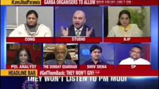 Nation at 9: #LoveJihadParanoia – They won't listen to PM Modi - NEWSXLIVE