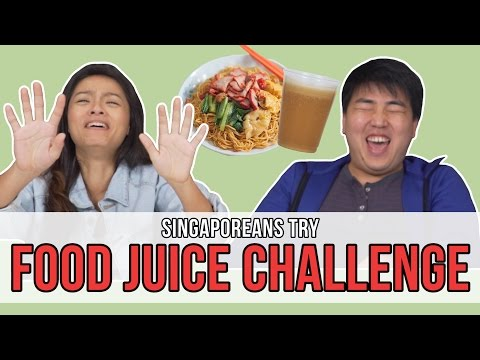 Singaporeans Try: Food Juice Challenge | EP 92