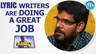Lyric Writers Are Doing a Great Job - Singer Simha || Talking Movies With iDream - IDREAMMOVIES