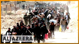 🇸🇾 Reports: Syrians fleeing Ghouta arrested by government | Al Jazeera English - ALJAZEERAENGLISH