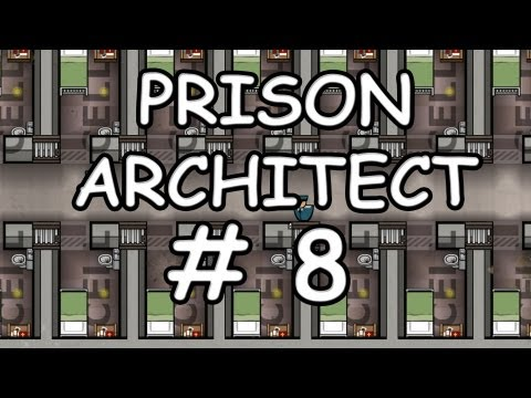 Let's Play - Prison Architect (HD / Alpha / German) - #8 Wegen Pornos im Knast?