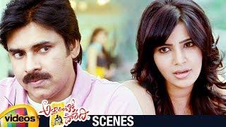 Samantha Proposes Pawan Kalyan | Attarintiki Daredi Telugu Movie | Pranitha | Trivikram | DSP - MANGOVIDEOS