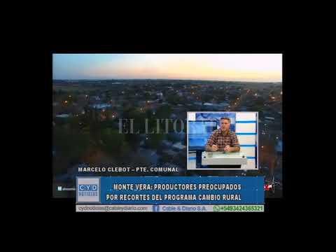 MONTE VERA: PRODUCTORES PREOCUPADOS POR RECORTES DEL PROGRAMA CAMBIO RURAL //