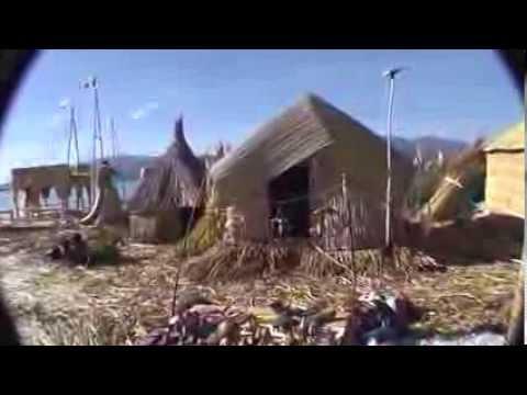 Lake Titicaca Peru and Bolivia, floating  island, podroze po swiecie , Bolivia i Peru