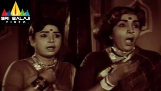 Mallamma katha Movie Sharada and Her Aunty Scene || Krishna, Sharada, Sridevi - SRIBALAJIMOVIES