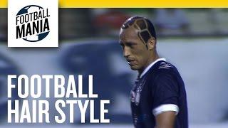 لاعب برازيلي يفاجئ جمهوره بقصة شعر غريبة