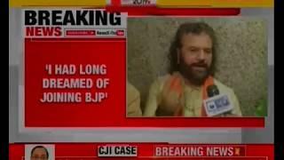 Hans Raj Hans Exclusive after joining BJP: PM Narendra Modi most honest politician, diligent - NEWSXLIVE
