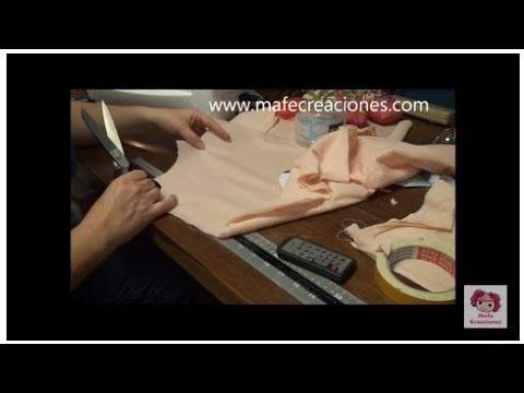 Hacer muñeca de trapo sin moldes parte 1