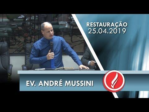 Ev. André Mussini | Deus é por nós  | Rm 8.31-39 | 25 04 2019