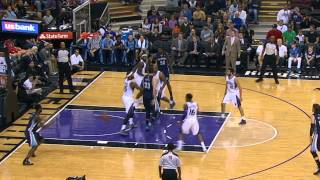 Marc Gasol's Smooth Behind The Back Pass