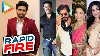 Amaal Mallik's AWESOME Rapid Fire On Salman Khan, SRK, Madhuri Dixit, Poonam Pandey - HUNGAMA