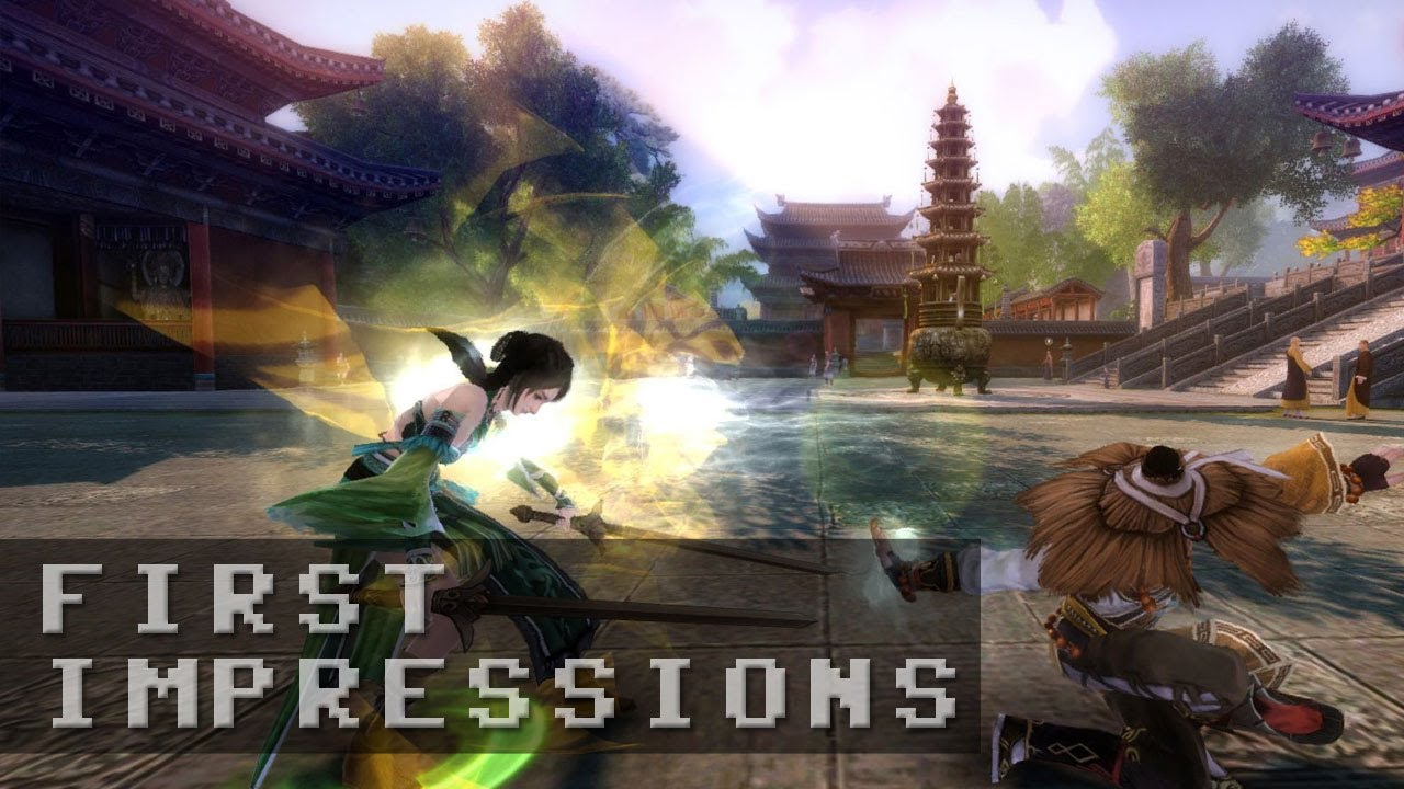 Age of Wushu Gameplay - First Impressions HD