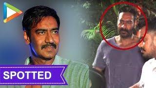 SPOTTED: Ajay Devgn in Versova - HUNGAMA