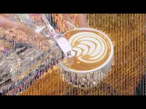 Barista Dritan Alsela Latte Art