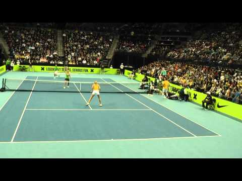 Nike Clash of The Champions (Federer, Nadal, McEnroe, Sharapova, Azarenka) Full Video Part 2 of 2