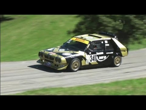 "Lancia Delta S4 FESTIVAL - four of these Legends at one Hillclimb Race - ""the"" Group B Rally Car"