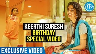 Actress Keerthi Suresh Birthday Special Video || Happy Birthday Mahanati || iDream Movies - IDREAMMOVIES