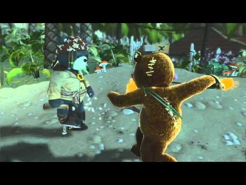 YogTrailers Naughty Bear Gold Edition
