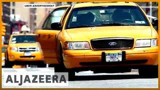 🇺🇸 New York City caps Uber, Lyft after taxi drivers' losses | Al Jazeera English - ALJAZEERAENGLISH