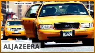 🇺🇸 New York City caps Uber, Lyft after taxi drivers' losses | Al Jazeera English - ALJAZEERAENGLISH