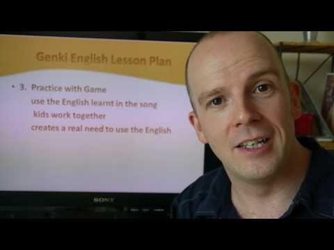 Genki English: EFL / ESL Lesson Plan How to Teach English!