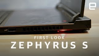 Asus Zephyrus S First Look - ENGADGET