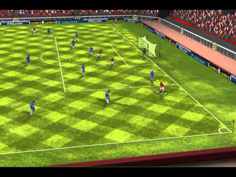 FIFA 13 iPhone/iPad - Manchester Utd vs. Chelsea