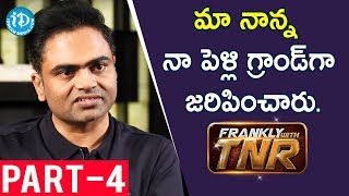 Maharshi Director Vamsi Paidipally Exclusive Interview Part #4 || Frankly With TNR - IDREAMMOVIES