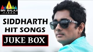 Siddharth Hit Songs Juke Box | Volume 1 | Telugu Video Songs | Sri Balaji Video - SRIBALAJIMOVIES
