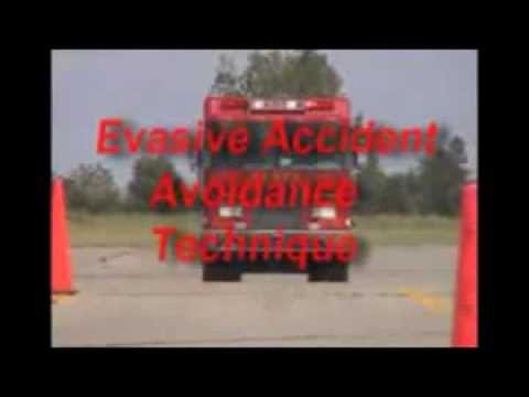 Fire Engine Brake and Steer Accident Avoidance Technique | 2 The Rescue | Life Saving Training