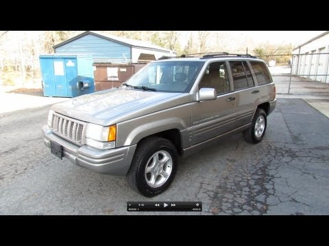 1998 Jeep Grand Cherokee 5.9 Limited Start Up, Exhaust, In Depth Tour, and Test Drive