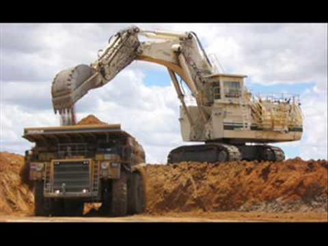 Maquinas y camiones super grandes