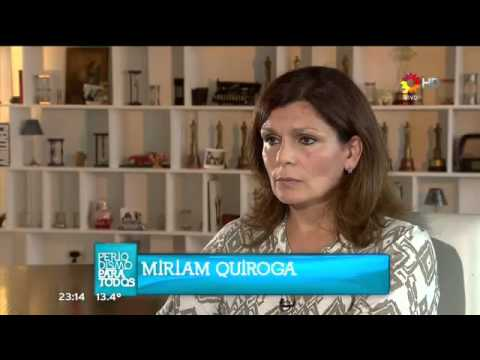 Miriam Quiroga habló con Lanata de bolsos con dinero