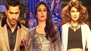 Kareena Kapoor, Priyanka Chopra, Varun Dhawan at Lakme Fashion Week - Day 4 and 5