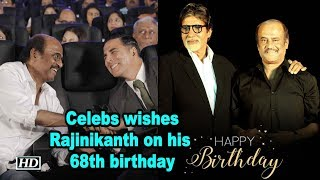 Celebs wishes superstar 'Thalaiva',Rajinikanth on his 68th birthday - BOLLYWOODCOUNTRY