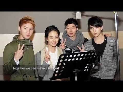 [ENG SUB] JYJ and Song Jihyo's Song for MEST -- 'No-Bully Classroom'