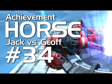 Halo: Reach - Achievement HORSE #34 (Geoff vs. Jack!)