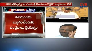 CM Chandrababu Naidu Meeting with MLC Magunta Srinivasulu | CVR News - CVRNEWSOFFICIAL