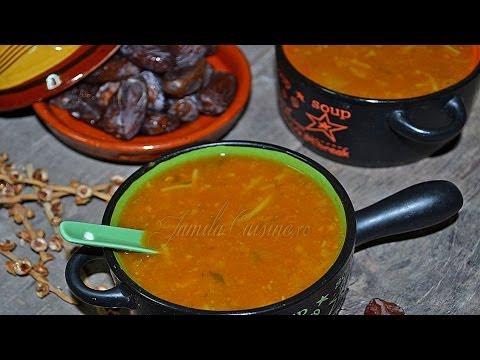 Reteta Harira - supa marocana - JamilaCuisine