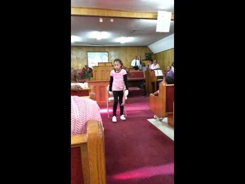 Erykah Cowley Praise Dance in honor of breast canc