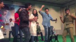 Rajasekhar dances during Garuda Vega success tour today - idlebrain.com - IDLEBRAINLIVE
