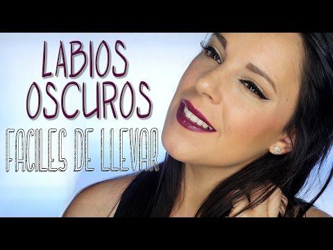 Maquillaje labios oscuros fáciles de llevar | Silvia Quiros